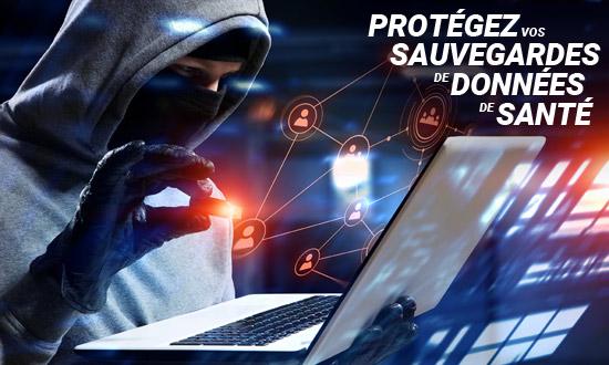 Protégez vos sauvegardes de données de santé